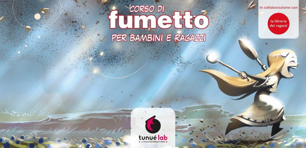 Corsi di fumetto Milano TunuéLab Libreria dei ragazzi